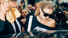 'My first reaction was: Get me out of this situation,' says Gigi Hadid of Milan attack