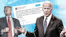 Trump adds Biden to his 'low IQ' list
