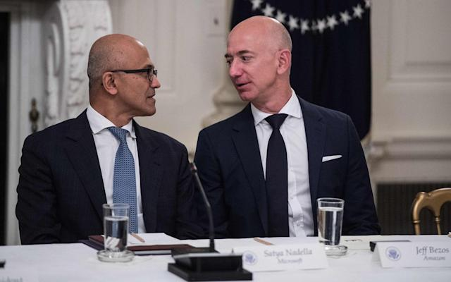 Judge grants Amazon's request to put Microsoft's Pentagon contract on hold