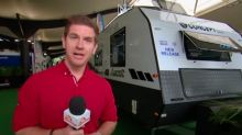 Sam Mac is at the caravan camping show in Sydney