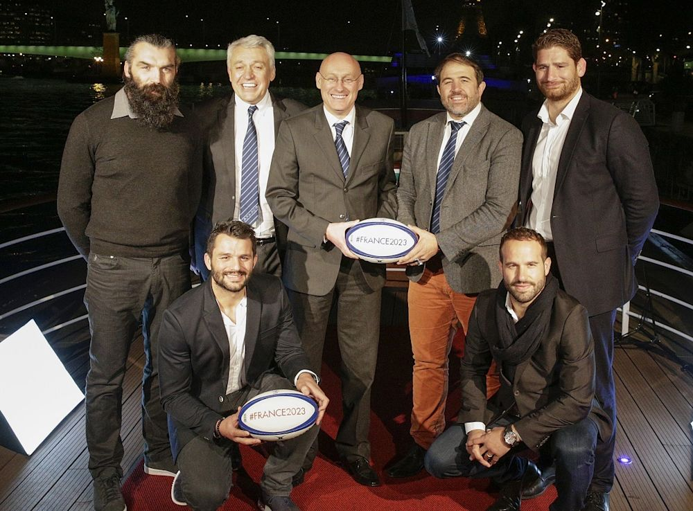Mondial 2023: la délégation de World Rugby reçue par Hollande