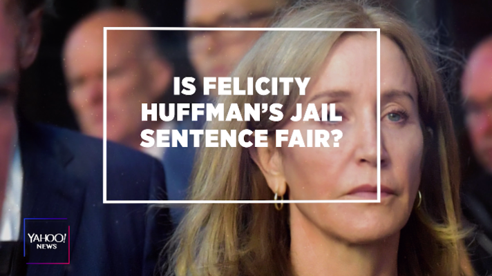 Is Felicity Huffman's prison sentence fair?