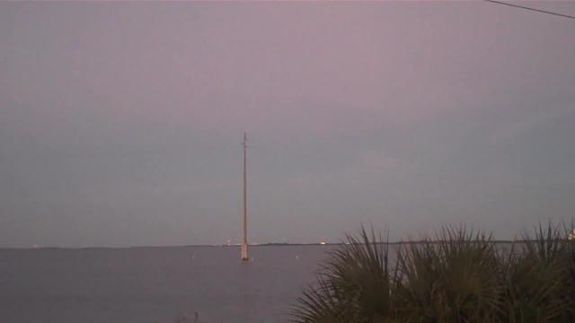SpaceX Falcon 9 Lifts Off in Florida