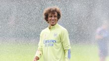 David Luiz misses Arsenal training with Brazilian a doubt to face Fulham with neck injury