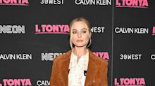 Margot Robbie wears dangerously sheer (and ridiculously chic) outfit on the red carpet