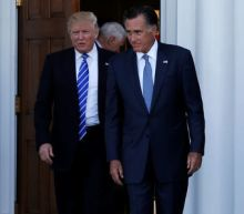 As he shapes Cabinet, Trump meets former rival Romney and retired Gen. Mattis