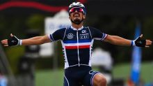 Julian Alaphilippe wins world road race title with late attack