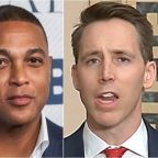 Don Lemon Rips Josh Hawley's 'Muzzled' Claim: 'Poor Baby, Do You Need A Binkie?''