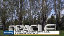 Oracle Declines on Underwhelming Results
