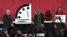 'A catastrophe sooner rather than later': Doomsday Clock moves 20 seconds closer to midnight