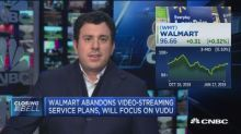 Walmart abandons plans to develop video streaming service