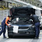 Volvo's Electric Polestar 2 Begins Production in China