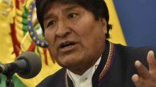 Evo Morales suspendió su campaña y aceptó ayuda externa