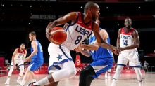 Olympics-Basketball-U.S. clinches playoff spot, France and Australia go 3-0