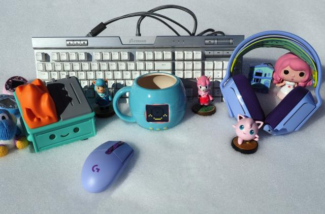 Gaming accessories that can make your setup a lot cuter