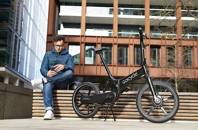 Gocycle's GX ebike is a fast-folding Brompton alternative