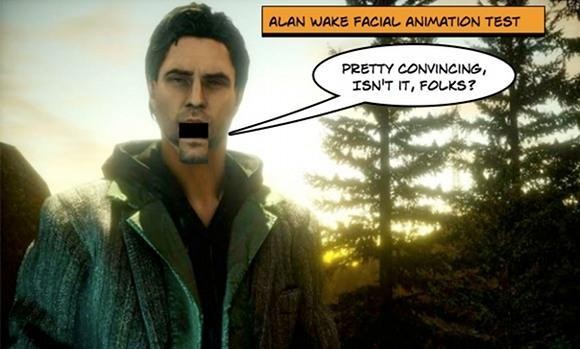 Fun facts about Alan Wake's facial animation