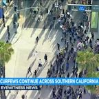SoCal cities extend Tuesday curfews amid continued unrest