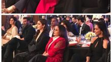 Deepika and Rani chat during the HT Style Awards while Anushka and Kajol look on