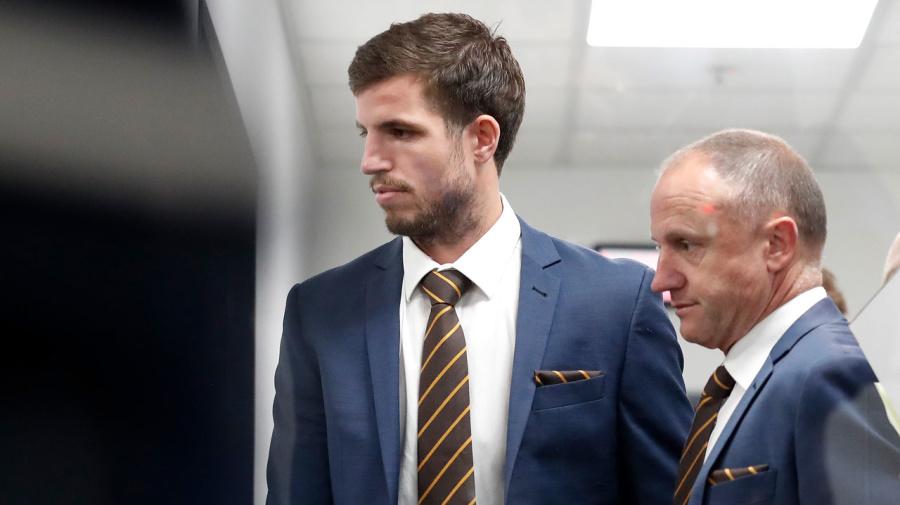 AFL tribunal hands down Ben Stratton suspension