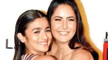 """Would like to have a liaison with Katrina as we've bunny hopped together,"" kids Alia"