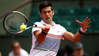 2017 French Open: Novak Djokovic starts Andre Agassi-coached era with straight-sets win