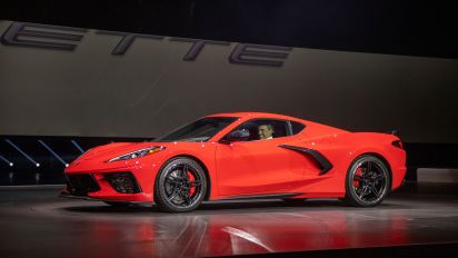 The new Corvette waves goodbye to boomers