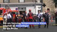 Nach Brand in Kathedrale von Nantes festgenommener Mann wieder frei