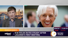 ECB holds rates steady after Lagarde's first meeting