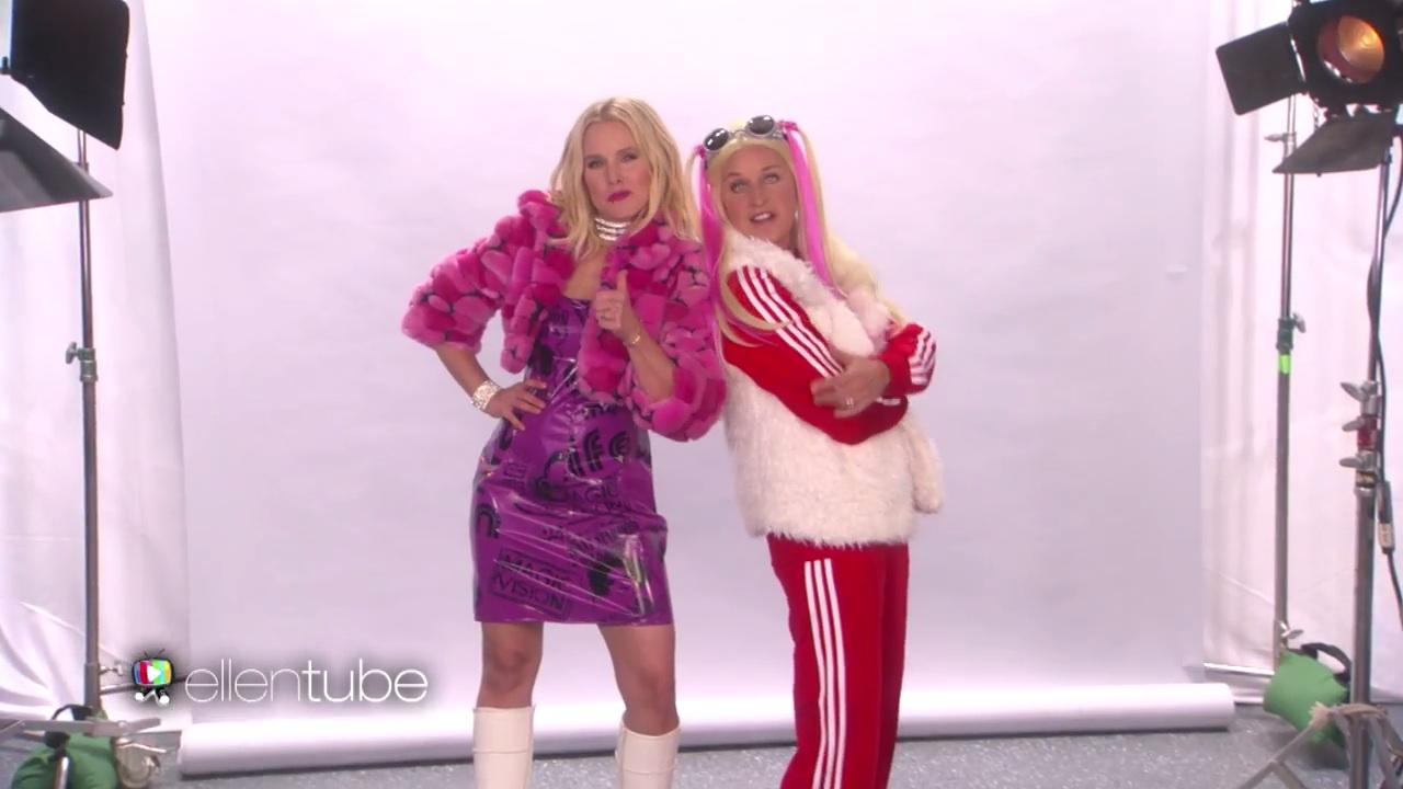 Kristen Bell and Ellen DeGeneres audition for the Spice Girls, and ...