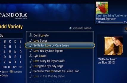 TiVo brings Pandora to Series3, HD boxes