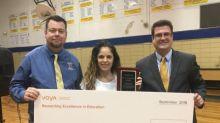 Voya Honors Deville, Louisiana Teacher with Third Place Unsung Heroes Program Award