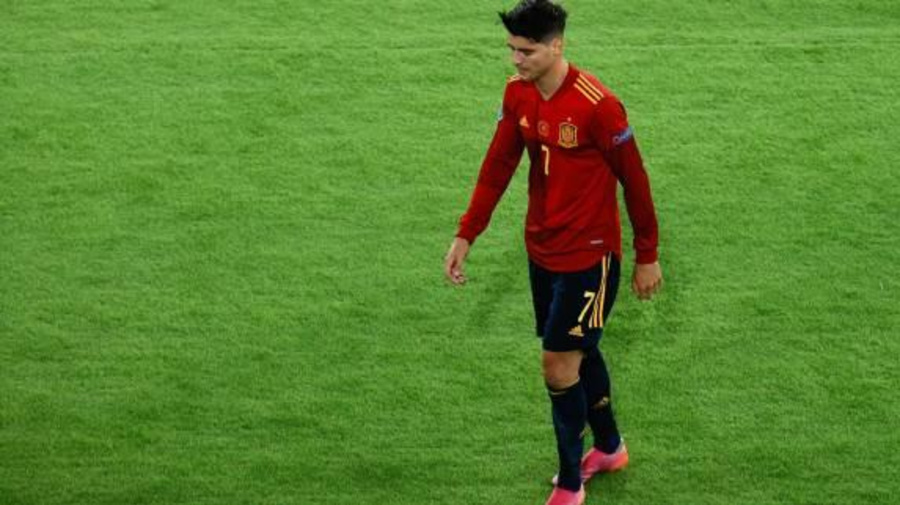 Foot - Euro - ESP - Alvaro Morata, après le nul entre l'Espagne et la Pologne: «Un autre match qui nous échappe»