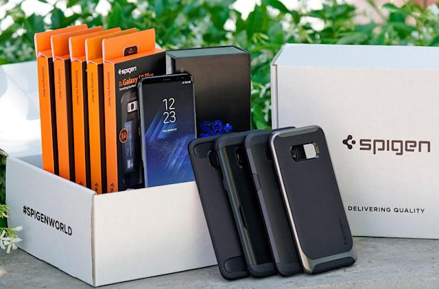 Engadget giveaway: Win a Samsung Galaxy S8+ and Spigen cases!