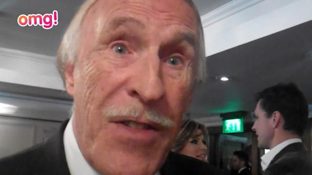 Bruce Forsyth's happy with Strictly's success this year