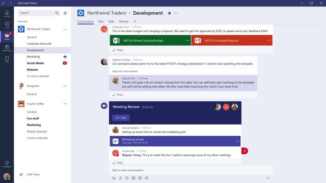 Teams is Microsoft's most intriguing productivity app yet