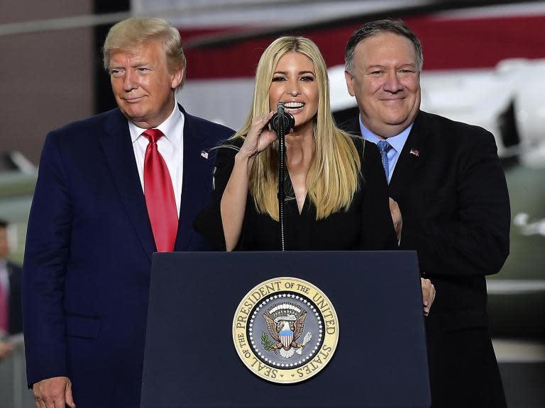 Twitter users Photoshop Ivanka Trump into historic scenes
