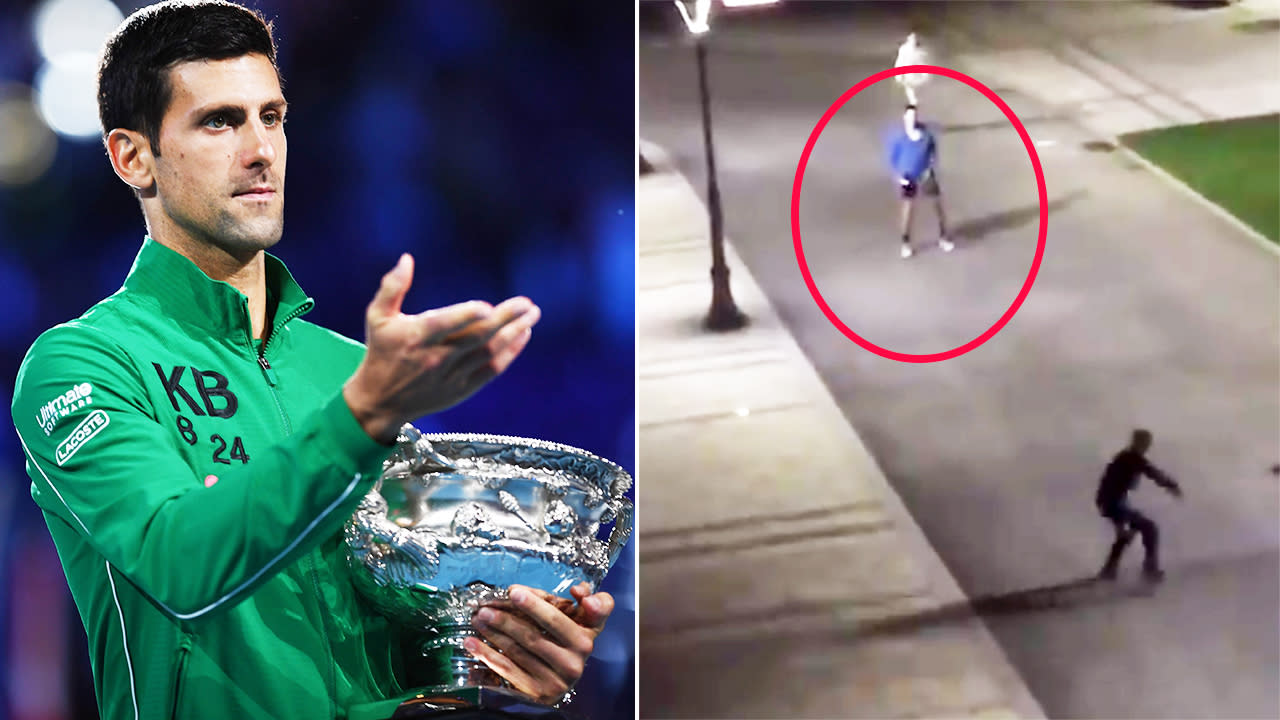 Novak Djokovic video that puts Australian Open fans to shame