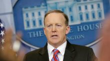 'Stop shaking your head': Spicer scolds reporter who asked how Trump administration plans to revamp its image