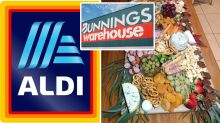 Aldi and Bunnings help woman create budget birthday platter