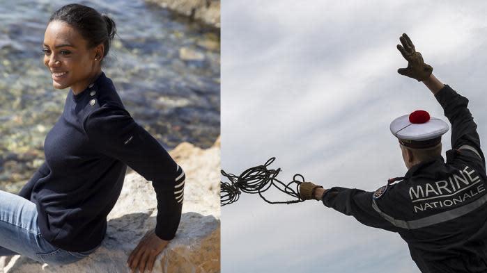 Cabans, pulls, sacs en voile recyclée... la Marine nationale française part à l'assaut de la mode