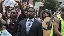 Raw: Rallies Across US Protest Ferguson Shooting