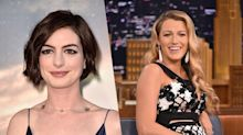 Anne Hathaway And Blake Lively Have Something To Say About Baby Weight Loss