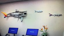 Southwest Airlines' wall hangings give insight into Hawaiian ambitions
