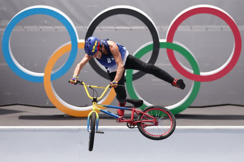 Olympics-Biking-Venezuelan veteran Dhers is down with the younger dudes