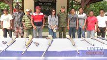 9 NPA rebels surrender in Nueva Ecija