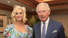 Katy Perry joins Charles in Mumbai to discuss work of British Asian Trust