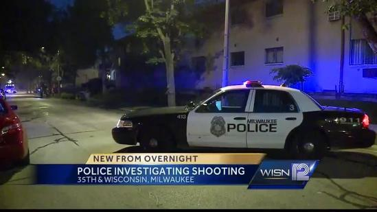 Milwaukee police investigate three overnight shootings