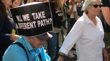 Crowds March for Climate Action in New York City