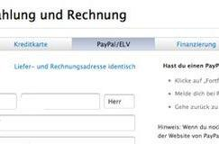 Apple now allowing Paypal payment for Apple Store purchases (in Germany)